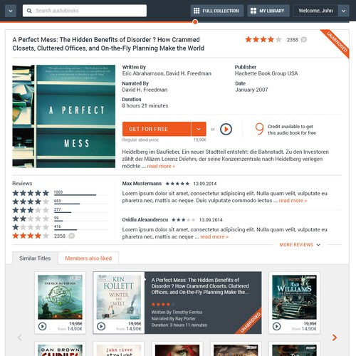E-commerce Product Page Design