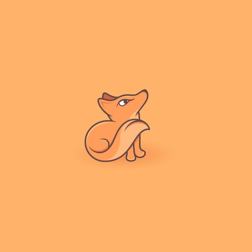 little cute fox