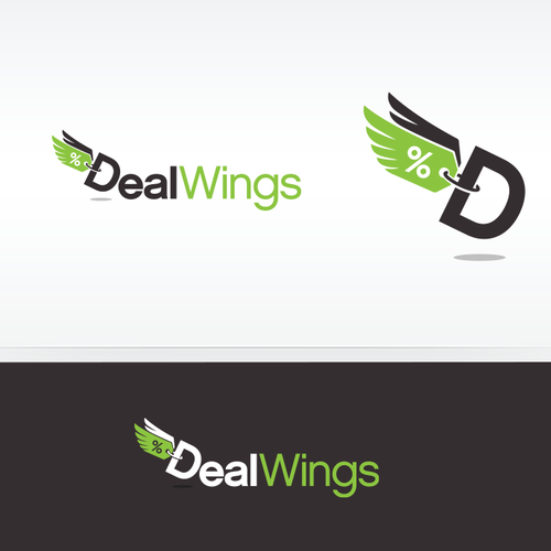 Logo design for DealWings