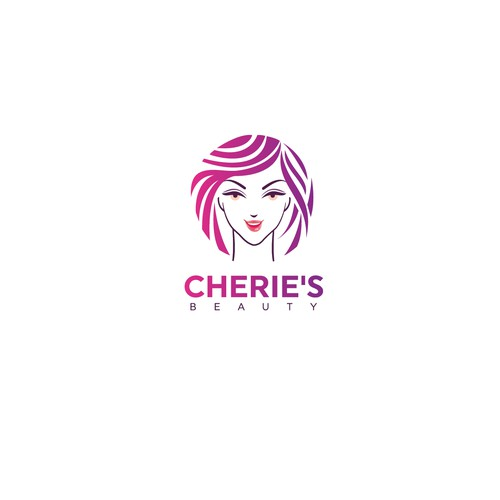 Logo concept for beauty product