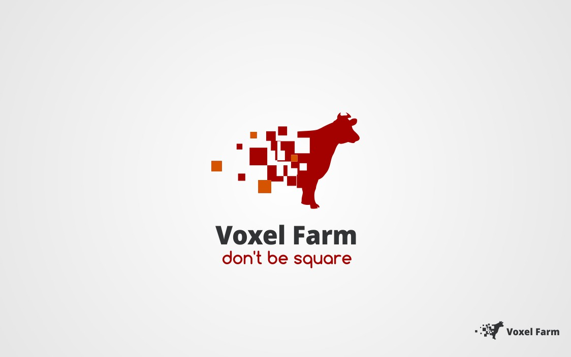 """Looking for a logo for """"Voxel Farm"""""""