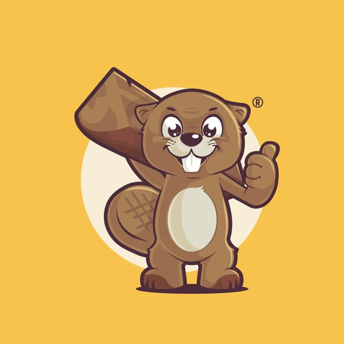 Beaver Mascot Design