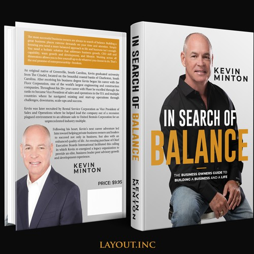 Design a great business book cover that conveys authority and clarity