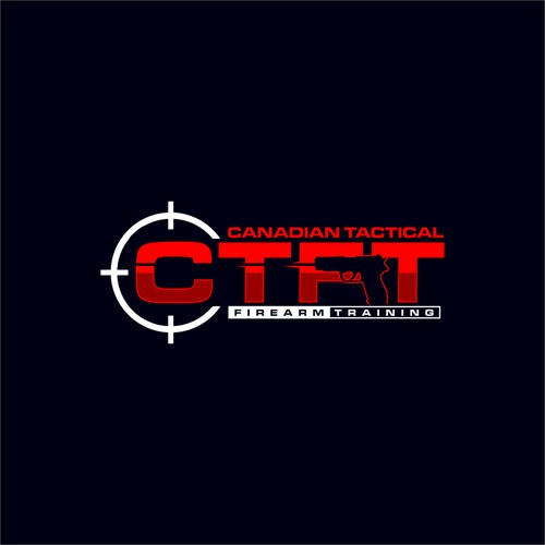 Powerful logo for firearm training company