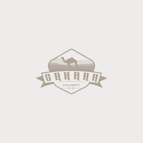 Sahara Creamery needs a unique logo
