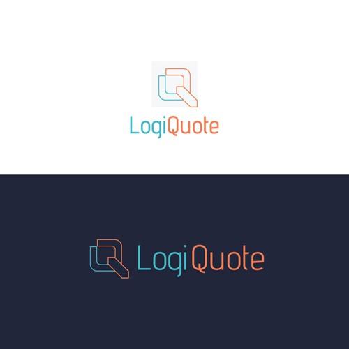 LogiQuote Logo Design