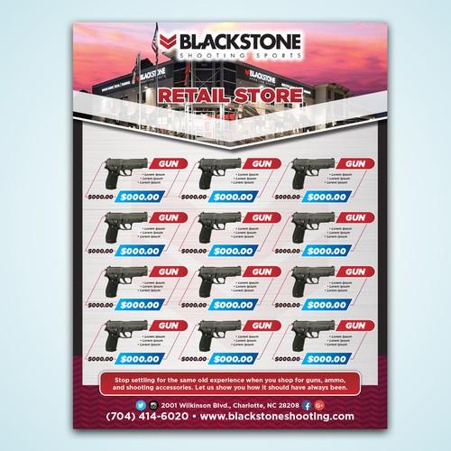 Blackstone Sales Flyer Circular