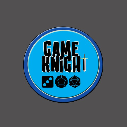 Logo for Board Game Company Game Knight