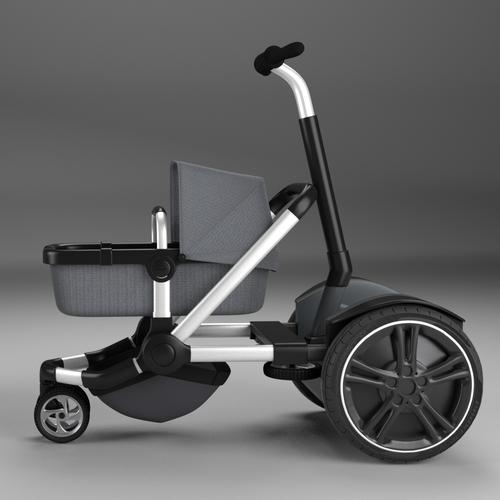Revolutionary baby stroller