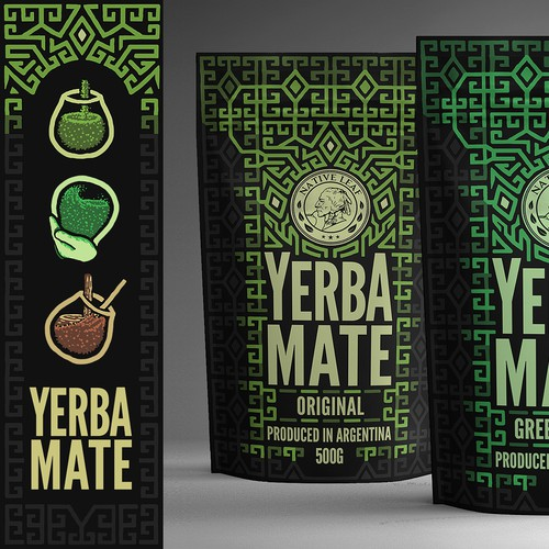 Illustrated Packaging for Tea