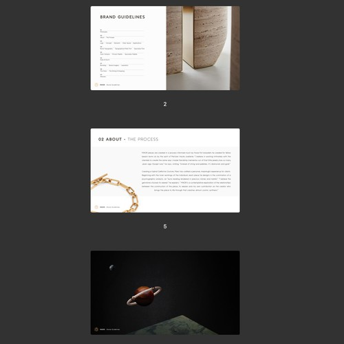 Exclusive Jewelry Brand Guideline
