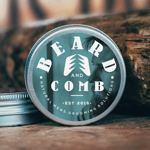 Unique logo for Beard & Comb
