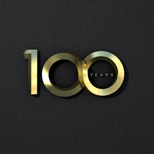 100 th years logo
