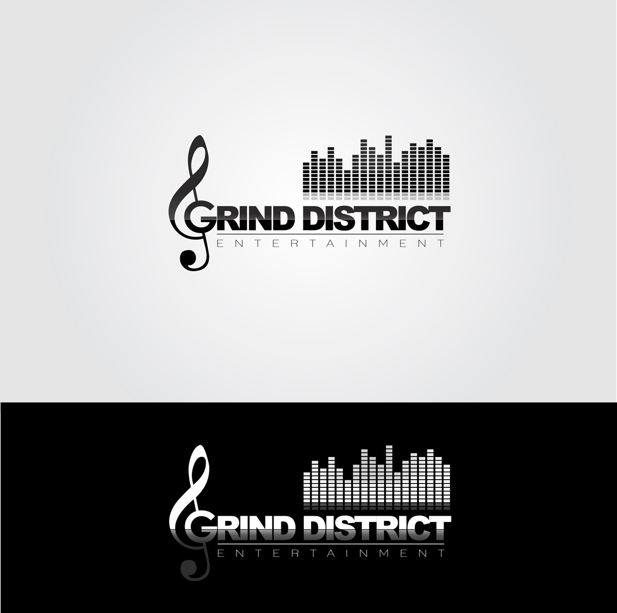 GRIND DISTRICT ENTERTAINMENT needs a new logo