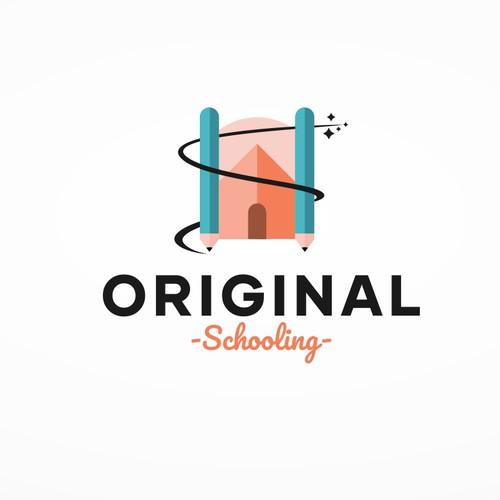 Home Schooling Logo Design