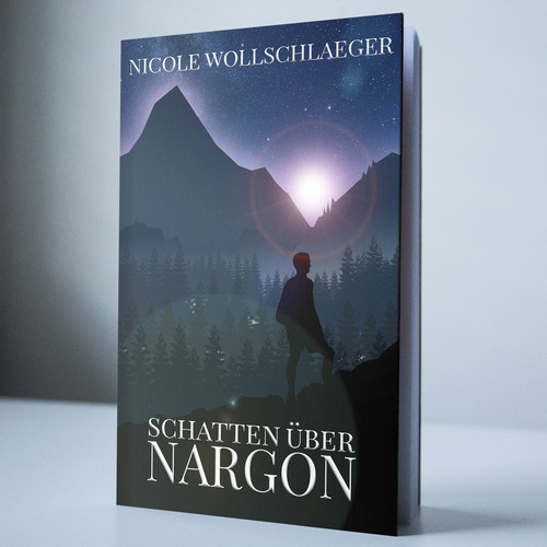 Book cover for a German author