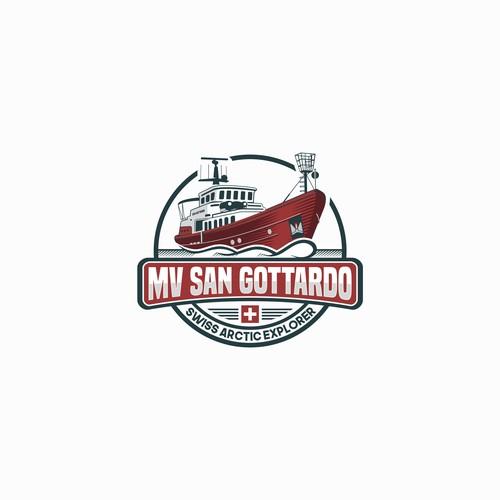 Bold Logo Concept for MV San Gottardo