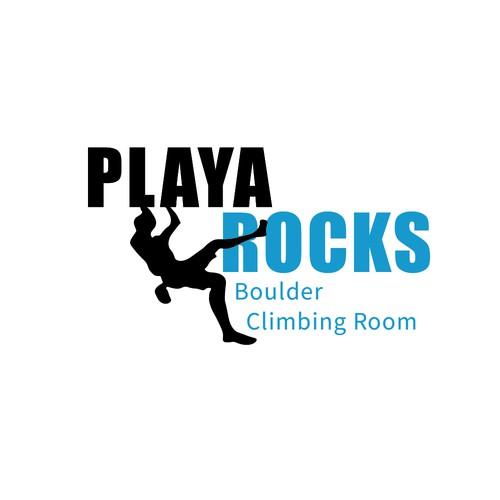Playa Rocks Indoor Bouldering Logo