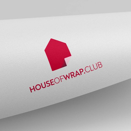 Logo for an on-demand gift wrapping service for any occasion