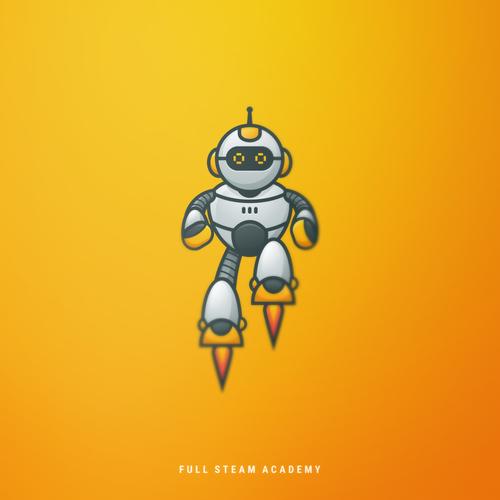 Logo mascot design for STEAM Academy