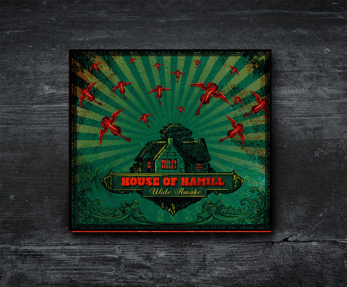 Design an album cover (with lots of creative freedom) for Indie-Folk band House of Hamill!