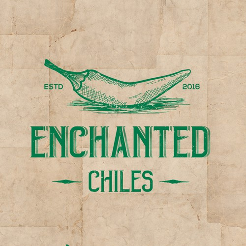 Logo concept for Enchanted Chiles