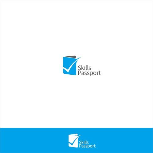 Skill Passport logo concept