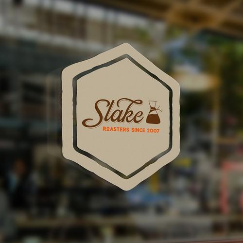 logo for upscale coffee roastery