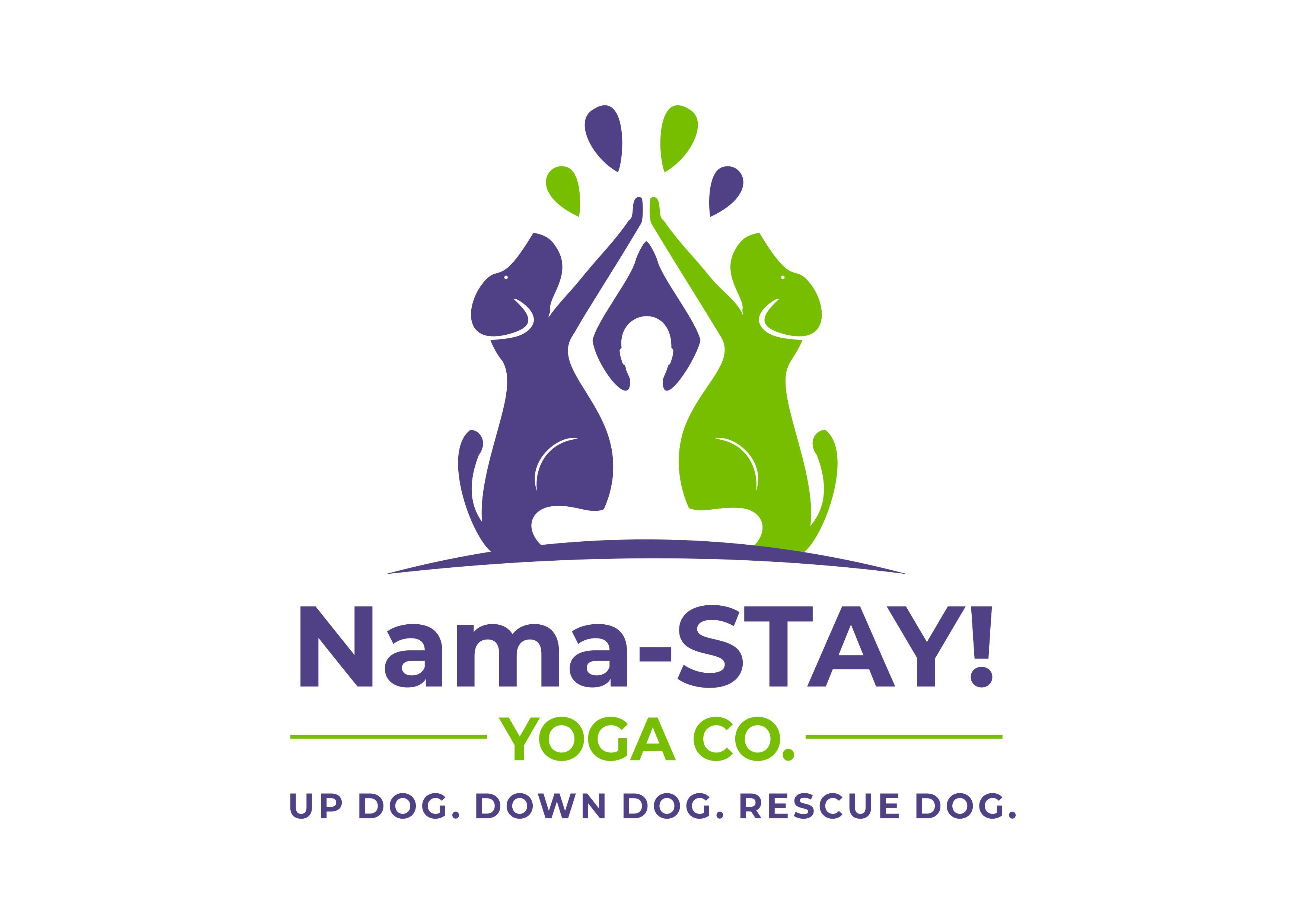 Yoga Company with Heart for Rescue Dogs