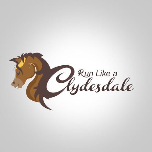 New logo wanted for RunLikeaClydesdale.com