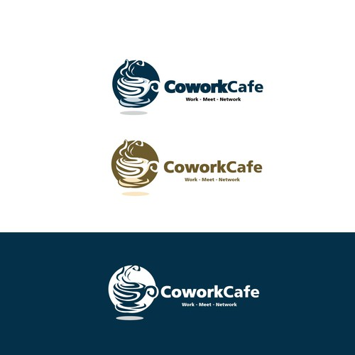 Logo concept for Cowork Cafe