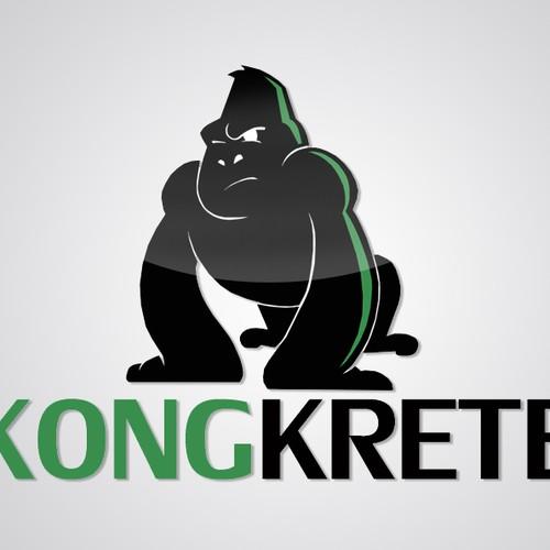 Create the next logo for KONGKRETE or KongKrete (not KongKreet)