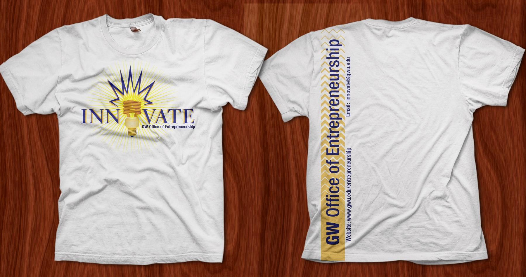 George Washington University Office of Entrepreneurship T-Shirt Design