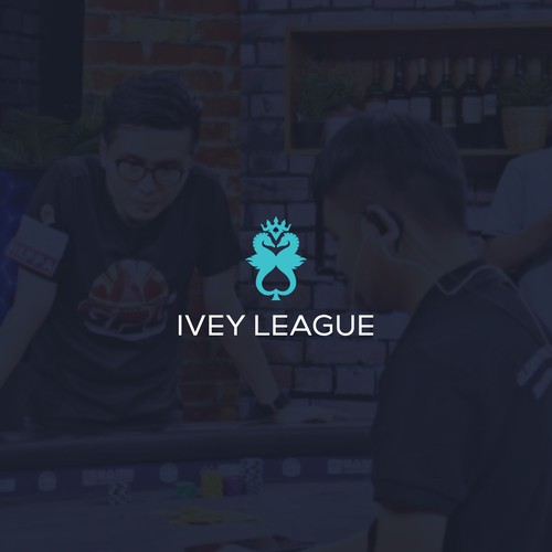 "Bold Poker with sea horse logo for ""Ivey League"""