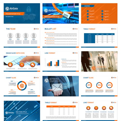 AirGate Powerpoint Template