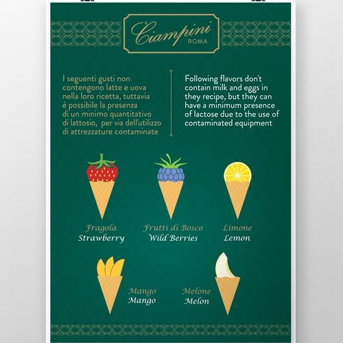 Poster for Ciampini Roma