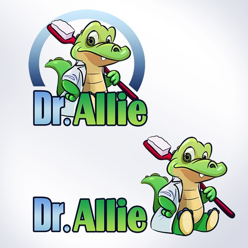 Looking For a Fun Alligator Mascot for Dr. Allie Toothbrushes