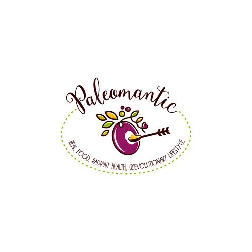 Unique logo for a Paleo Blog