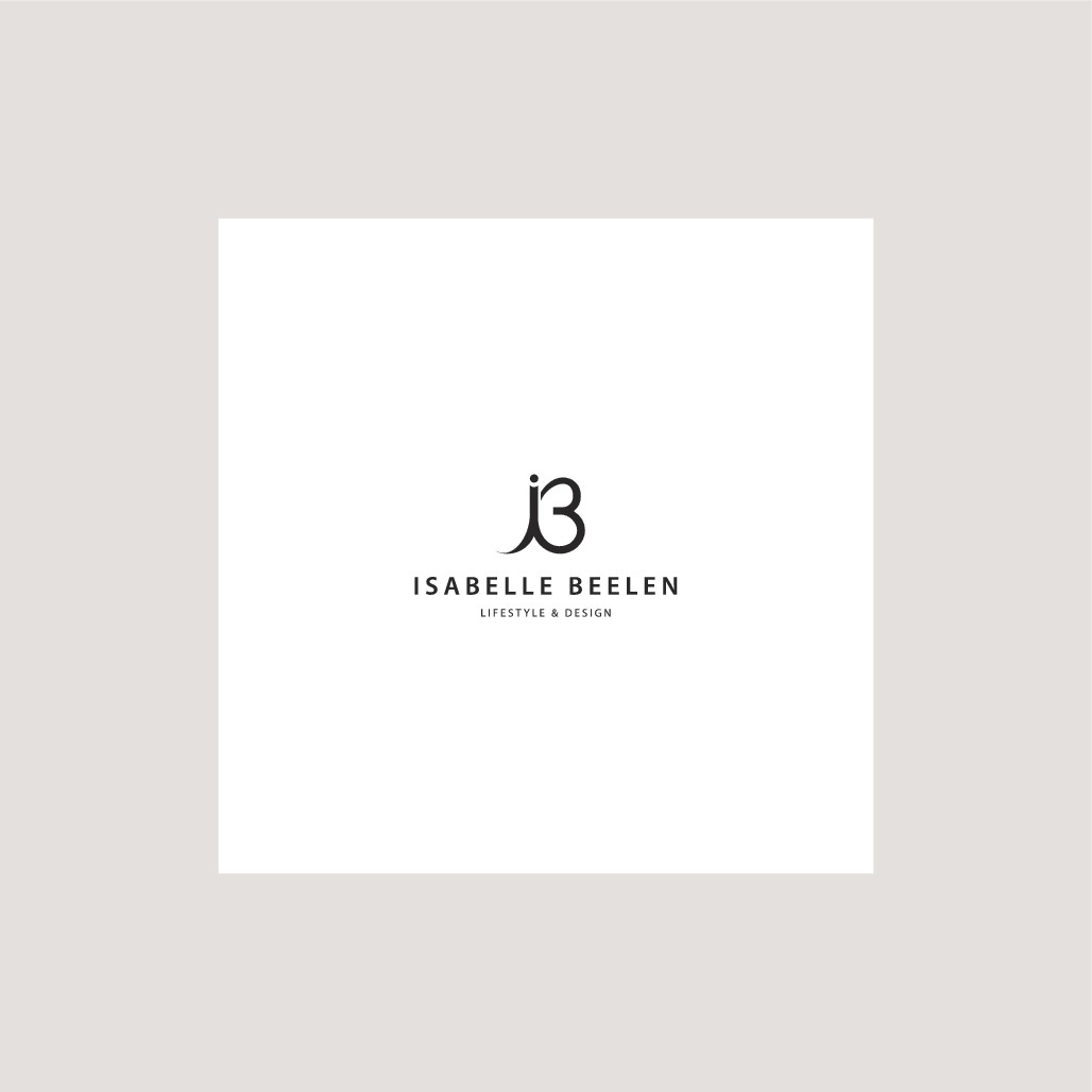 Création d'un logo et identité pour Isabelle Beelen