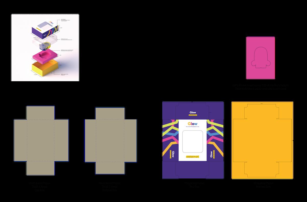Kids Phone Case Blister Pack Design
