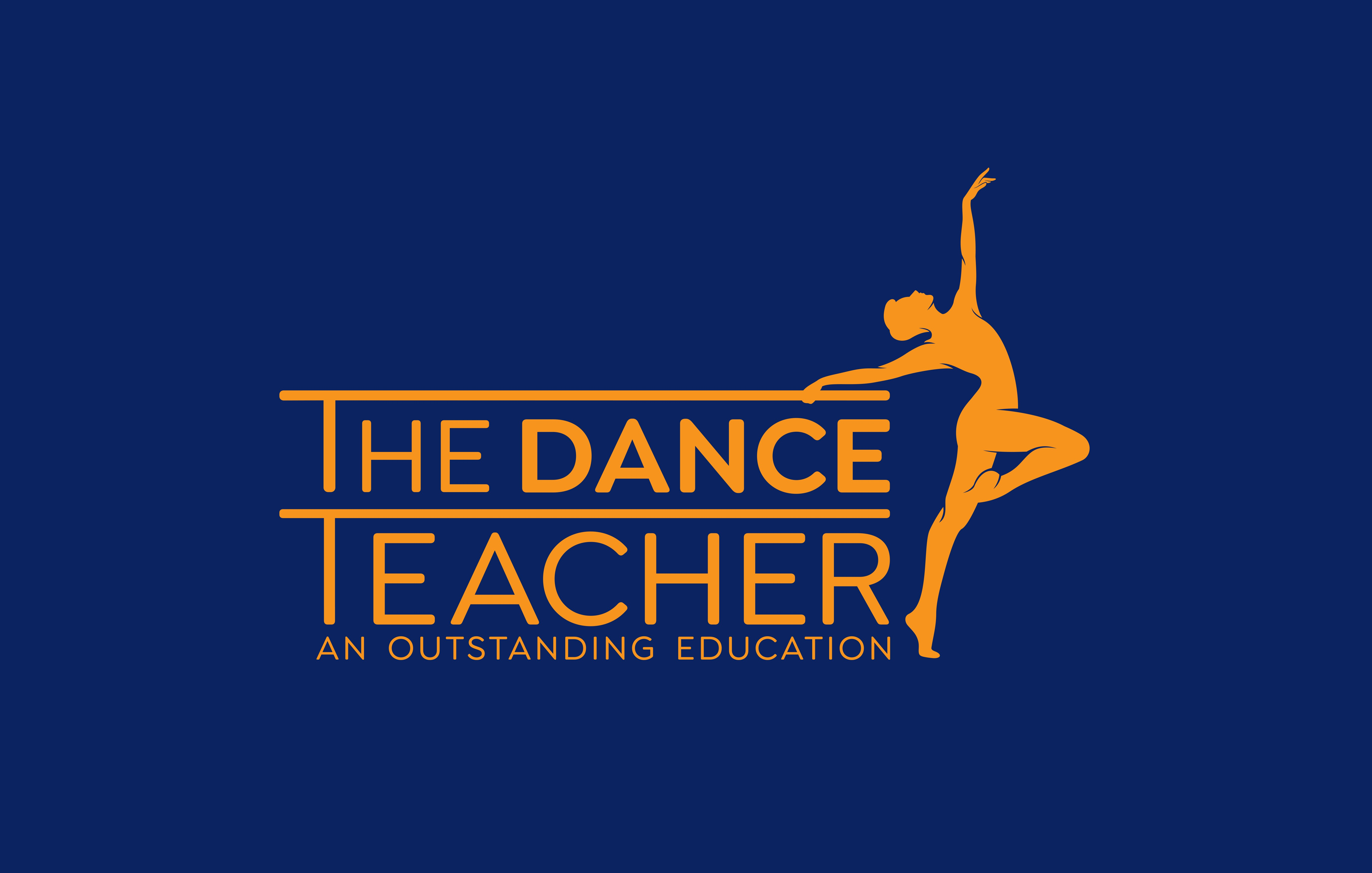 """Logo and Brand Guide for """"The Dance Teacher"""""""