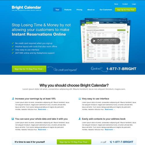 BrightCalendar Needs a Stunning, Clean, Professional Design