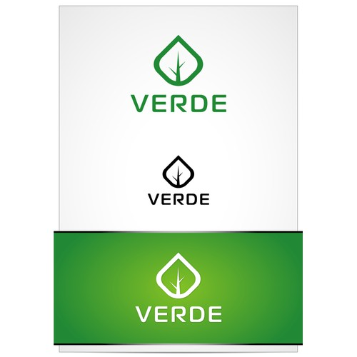 Verde Apartments logo for apartment complex