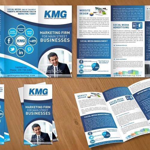 Marketing & Entertainment Firm Seeking Eye Catching Marketing Brochure