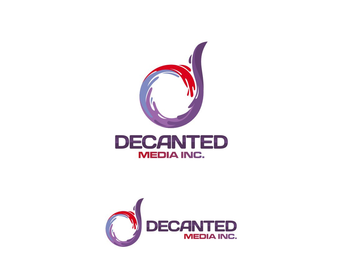 Help Decanted Media Inc. with a new logo