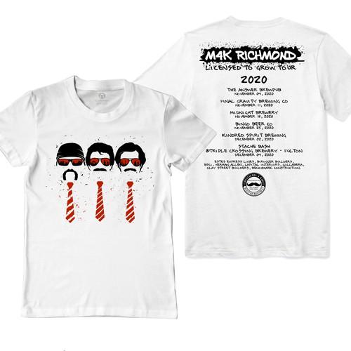 Musical Concert T Shirt Design