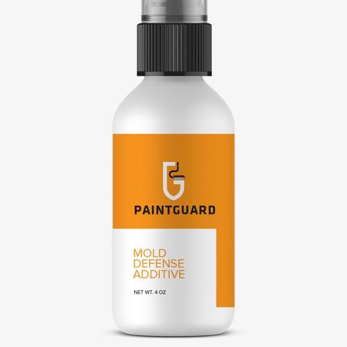 Paint Guard label+logo