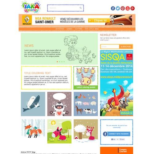 Yaka colorier website