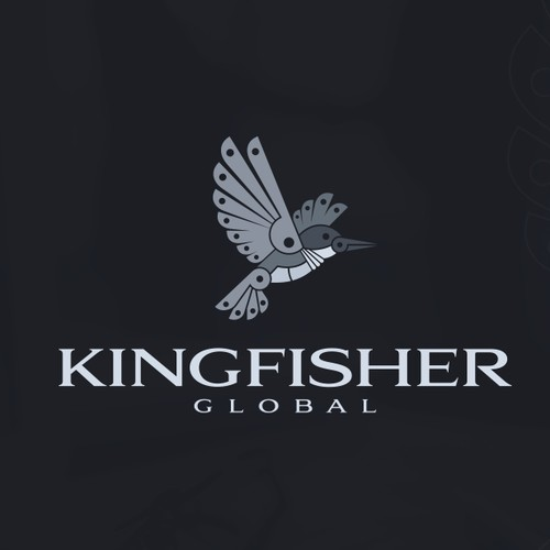 Kingfisher Metal Bird