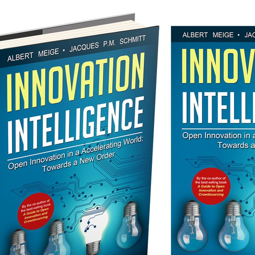 Create a best-selling cover design for a book on innovation